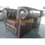 Classic Antikbraun (A5) Chesterfield Sessel