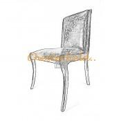 Elegant Chesterfield Stuhl (2)