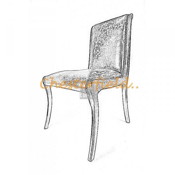 Bestellung Elegant Chesterfield Stuhl in anderen Farben