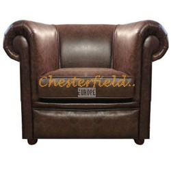London Antikbraun (A5) Chesterfield Sessel