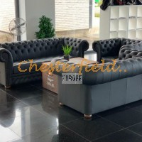 Chesterfield Williams schwarz sofa
