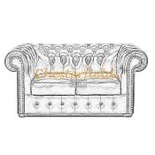 Classic 2er Chesterfield Sofa (9)
