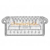 Classic 3er Chesterfield Sofa (22)