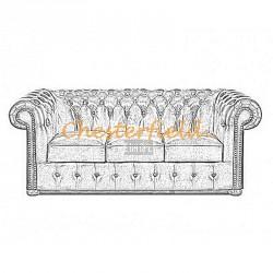 Classic 3er Chesterfield Sofa - TheChesterfields.de