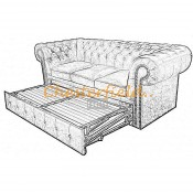 Classic 3er Chesterfield Schlafsofa (6)