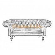 Diva 2er Chesterfield Sofa (2)