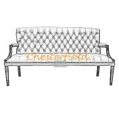 King 3er Chesterfield Sofa (2)