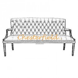 King 3er Chesterfield Sofa - TheChesterfields.de