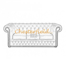 Lord 3er Chesterfield Sofa - TheChesterfields.de