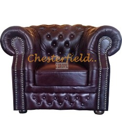 Windsor Antikrot (A7) Chesterfield Sessel