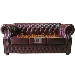 Windsor Antikrot 3-Sitzer Chesterfield Sofa