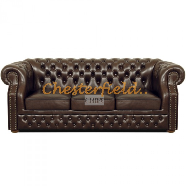 Windsor Antikbraun 3-Sitzer Chesterfield Sofa - TheChesterfields.de