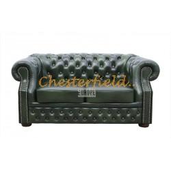 Windsor Antikgruen 2-Sitzer Chesterfield Sofa
