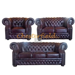 Windsor 321 Antikrot Chesterfield Garnitur