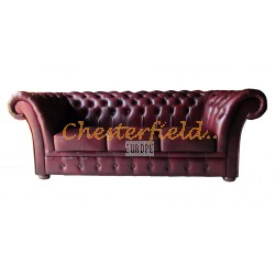 Windchester Antikrot 3-Sitzer Chesterfield Sofa