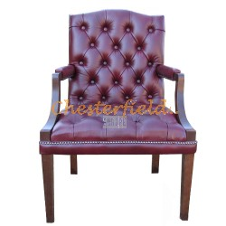 King Antikrot (A7) Chesterfield Armstuhl