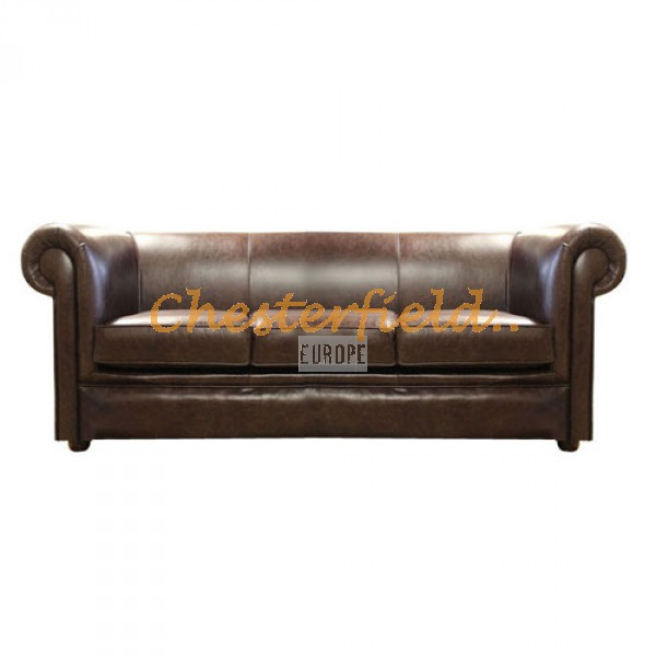 London Antikbraun 3-Sitzer Chesterfield Sofa - TheChesterfields.de