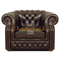 Windsor Antikbraun (A5) Chesterfield Sessel