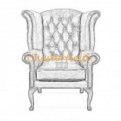 Queen XL Chesterfield Sessel