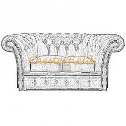Windchester XL Chesterfield 2er Sofa