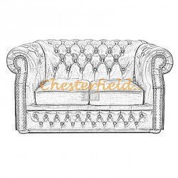 Windsor 2er Chesterfield Sofa - TheChesterfields.de